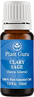 Clary Sage Essential Oil. 100% Pure, Undiluted, Therapeutic Grade.