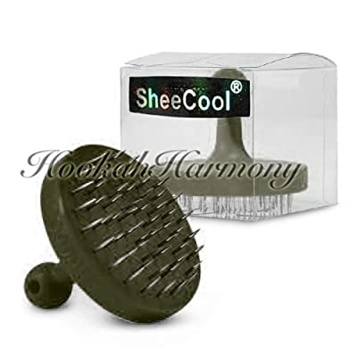 UNISHOW(TM) SheeCool® Hookah Huka Shisha sheesha Nargile Nargila Foil Hole Poker Puncher By Bubble Star (black)