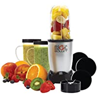 Magic Bullet 11 Piece Blender/Mixer Set (Silver) - Certified Refurbished