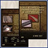Forge Welding Cable & Striped Damascus with Gene Osborn (2 Dvds)by Center Cross