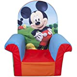Marshmallow Fun Furniture Mickey Mouse Club House High Back Chair
