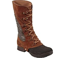 The North Face Women\'s Zophia Tall Dachshund Brown/Demitasse Brown Boot 9 B (M)
