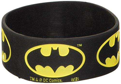 Batman Logo Rubber Bracciale