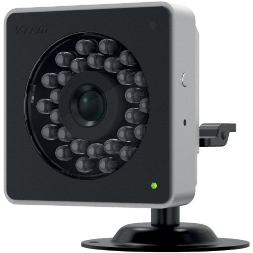 Y-cam YCBHD5 Cube HD 720p Infrared LED and Automatic IR-Cut Filter (Black)