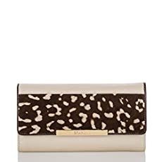 Soft Checkbook Wallet<br>Creme Estonia