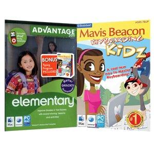 Elementary Advantage with Mavis Beacon Keyboarding Kidz Kids Typing
