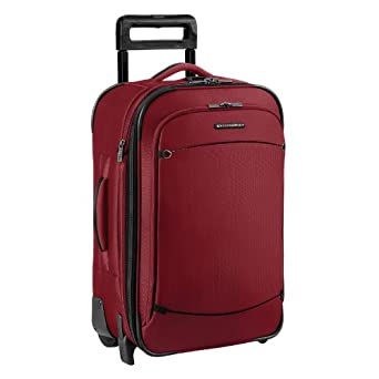 Briggs & Riley Luggage 22 Inch Carry On Expandable Upright Bag, Sunset, 22