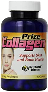 Nutritional Sciences Diet Supplements, Prize Collagen, 60 Count