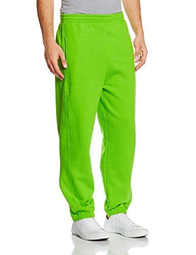 Urban Classics - Bekleidung Sweatpants, Pantaloni sportivi Uomo, Verde (Limegreen), XXX-Large (Taglia Produttore: XXX-Large)
