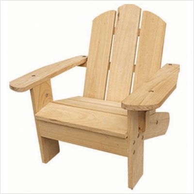 Kids Adirondack Chair in Natural
