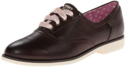 Keds Women'S Bf Leather Oxford, Java Brown, 11 M Us