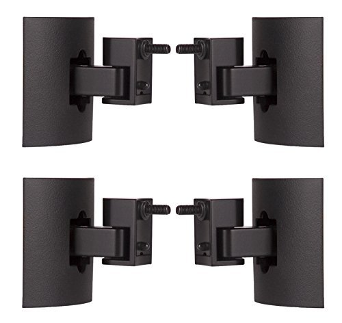 Bose UB-20 Series II Black Wall/Ceiling Bracket (Black 4-Pack) (Bose Mount Bracket compare prices)