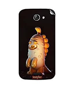 indiaspride SKIN STICKER FOR micromax Canvas elanza 2a121