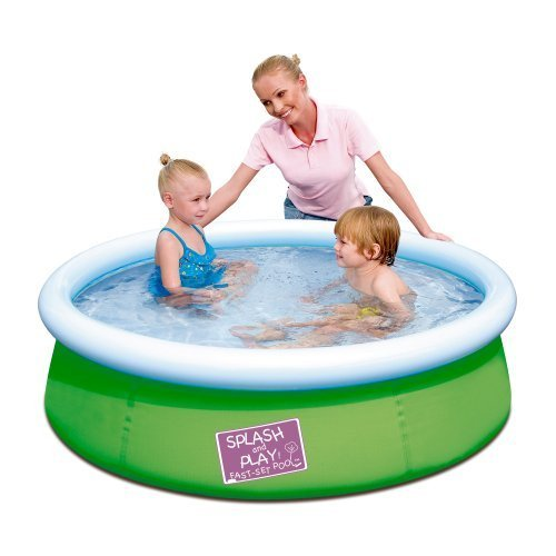 Splash & Play 5′ My First Fast Set Pool, Green by Splash & Play online kaufen
