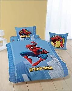 Housse de couette spiderman parure de lit - Housse de couette spiderman pas cher ...