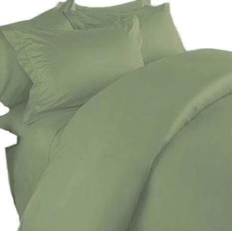 Marrikas 100% Viscose From Bamboo California King Sheet Set Sage front-986443