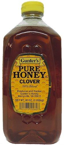 Gunter's Pure Clover Honey - 5 lb.
