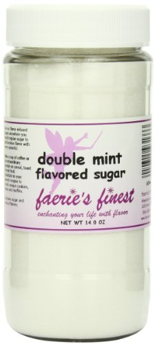 Faeries Finest Sugar, Double Mint, 14.0 Ounce