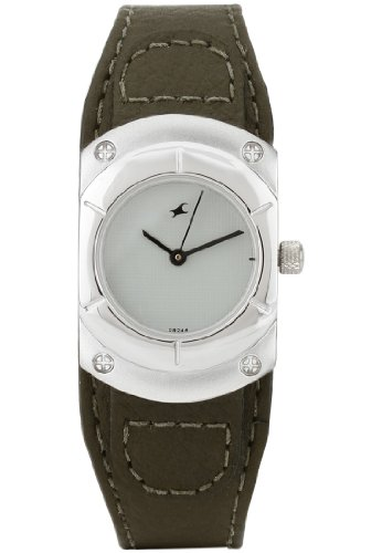 Fastrack Analog White Dial Men's Watch - 6053SL02