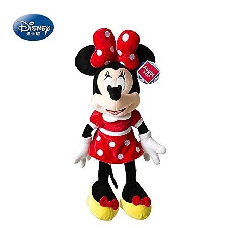Peluche enfant Minnie 60cm De marque autorisé par Disney cadeau enfant version original cadeau Noël cadeau fillette d'anniversaire poupée jouets
