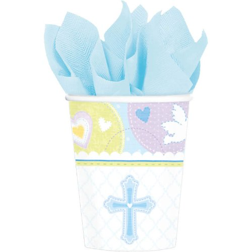 Sweet Blessing Blue 9 oz. Cups - 1
