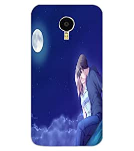 ColourCraft Loving Couple Design Back Case Cover for MEIZU BLUE CHARM NOTE 3