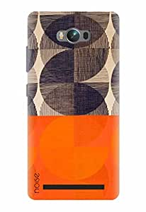 Noise Designer Printed Case / Cover for Asus Zenfone Max ZC550KL / Patterns & Ethnic / Surface Orange Design