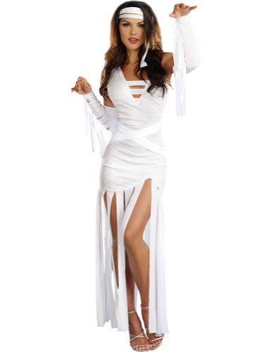 Mummy Dearest Adult Womens Costume Lg Adult Womens Costume