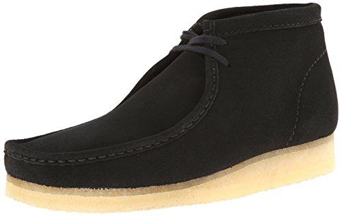 clarks-originals-mens-wallabee-boot-black-suede-75-m