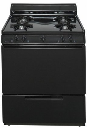 Premier-BFK100BP-ADA-Compliant-Black-30-Cordless-Battery-Spark-Gas-Range-with-39-Cu-Ft-Capacity-Four-Cooktop-Burners-Lift-Up-Top-4-Porcelain-Backguard-and-17-000-BTU-Oven