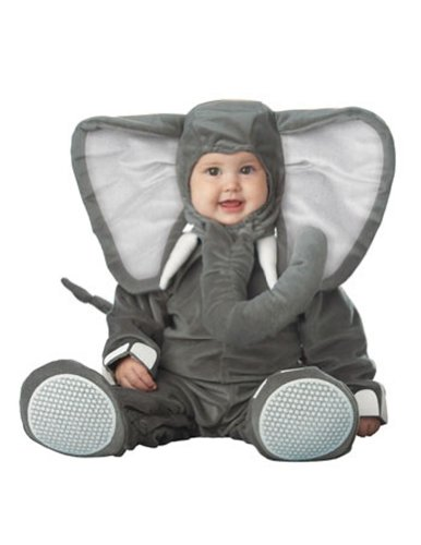 Lil Elephant Character Toddler Halloween Costume 12-18mo
