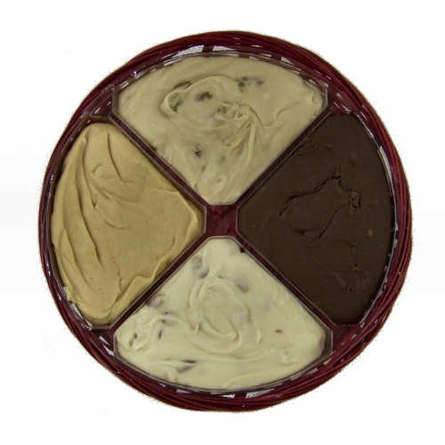 Four Flavor Gift Wheel of Fudge – 2 1/2 Lb