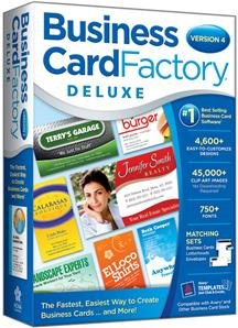 BUSINESS CARD FACTORY DELUXE 4.0 (SOFTWARE -