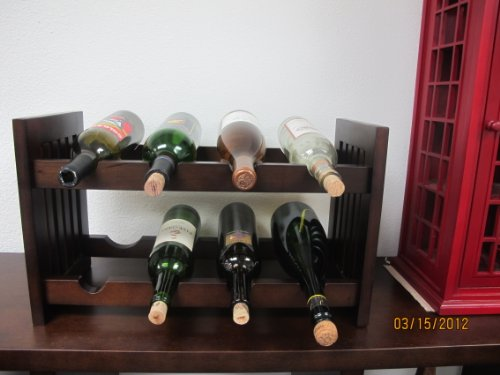 D-ART COLLECTION Old Country Wine Rack (Wine Country Art compare prices)