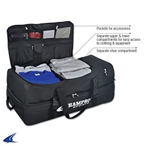 CHAMPRO Sports® Ultimate Catcher Umpire Equipment Bag w  Detachable Mesh Laundry... by Champro Sports