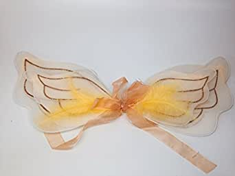 "Cute Newborn Baby Girl 16"" Angel Costume Cupid Fairy Wing"