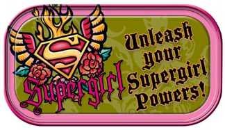 Supergirl Unleash Your Powers Mini Tin - 1