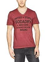 SodaDry Camiseta Manga Corta (Burdeos)