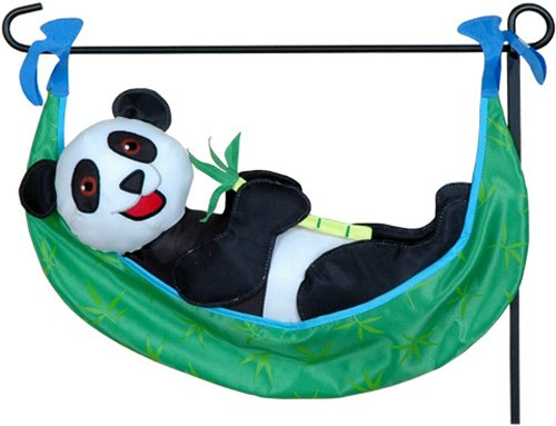 Premier Kites 59162 Garden Charm, Bamboo Panda, 18-Inch front-89937