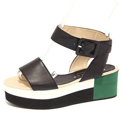 8905P sandalo PALOMITAS BY PALOMA BARCELO nero scarpa donna sandal woman [38]