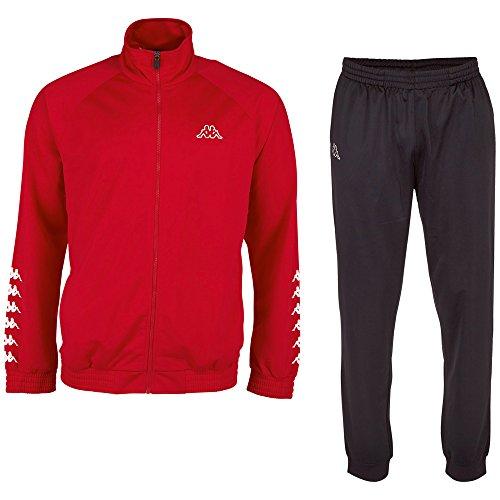 Kappa, Tuta sportiva Till, Rosso (Racing Red), XL