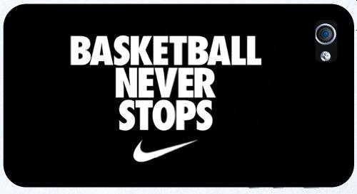 Custom Nike Brand Logo Basketball Never Stops