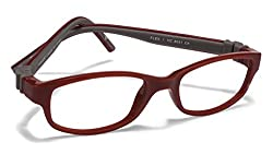 Vincent Chase Flex VC 8031 Maroon Grey Maroon C4 Kids' Eyeglasses (Kids 6-10 yrs)