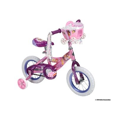 Huffy 12-Inch Girls Disney Princess Bike (Shimmer Pink/Glitter Pink)