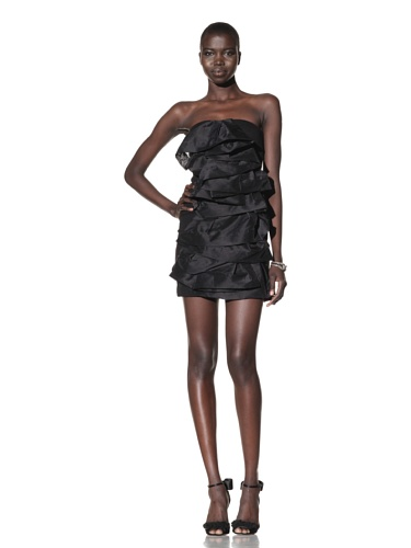 camilla-and-marc-womens-felix-ponte-and-organdy-dress-black-10-us