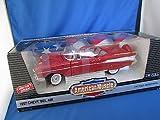 Ertl American Muscle Matador Red 1957 Chevy Bel Air Convertible Die Cast Model 1:18 Scale
