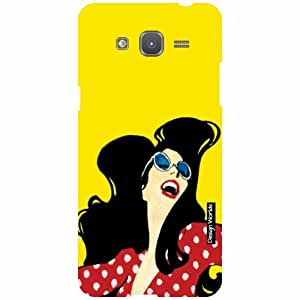 Design Worlds Samsung Galaxy Grand Prime SM-G530H Back Cover - Girl Designer Case and Covers