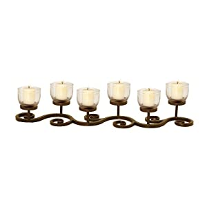 Pomeroy Corillian Six Votive Candle Centerpiece