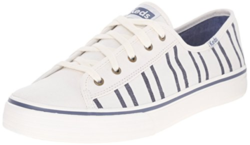 Keds Women's Double Up Washed Stripe Fashion Sneaker