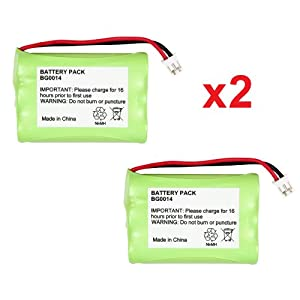2 Fenzer Rechargeable Baby Monitor Batteries for Graco 2791 2795
